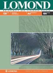 Фотобумага Lomond матовая двусторонняя A4 130 г/кв.м. 100 листов (0102004)